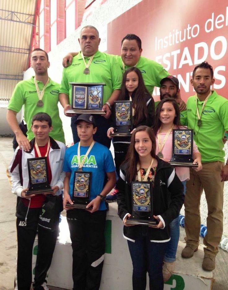 Alberca Olímpica campeón del Estatal de Curso Corto de Natación 2014 ~ Ags Sports