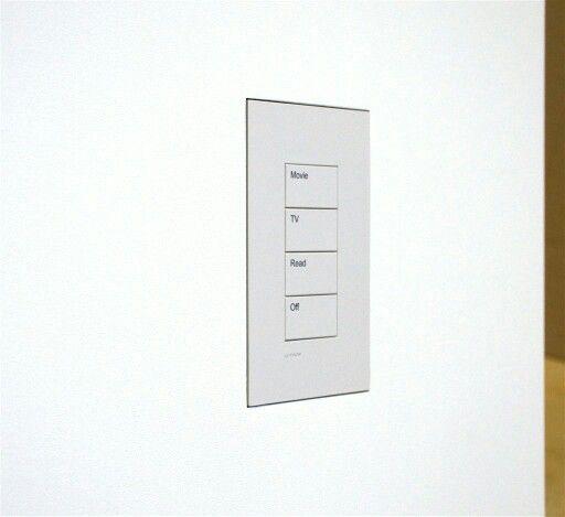 Wall-Smart wall mount for Lutron Palladiom keypad!
