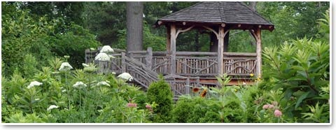 Hershey Children's Garden is the first public children's garden in the State of Ohio and one of the few of its kind in the United States. This garden gives children the opportunity to experience the natural world first-hand at the Cleveland Botanical Gardens.