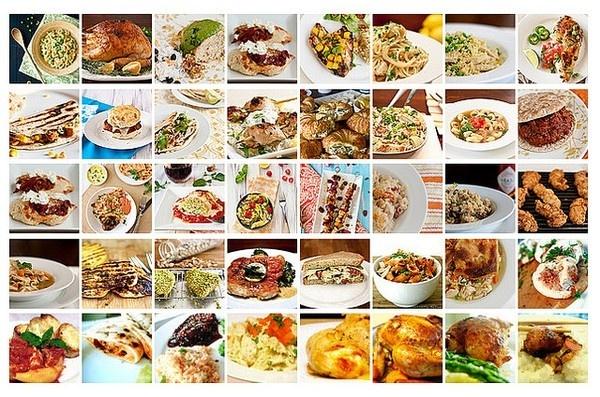 40 Chicken Recipes for Dinner Tonight recipes-chicken lovable-food