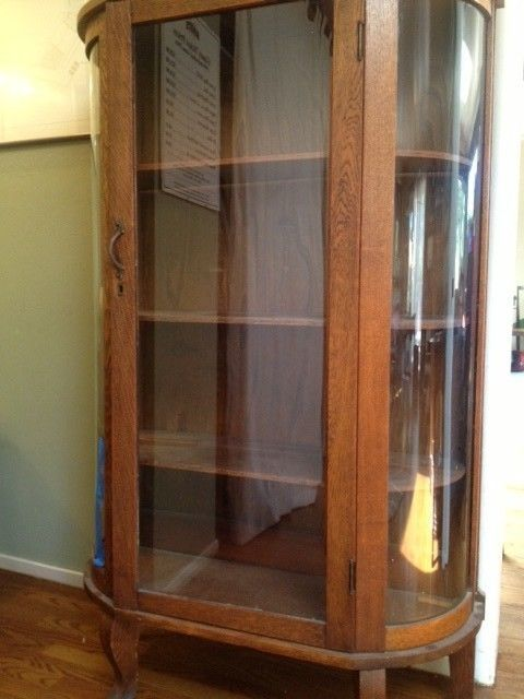 Antique Oak Bow Front China Cabinet - 35 Best Bow Front Beauty Images On Pinterest Cabinets, Antique