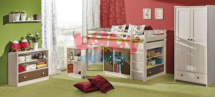 Dětská multifunkční postel Kamil - Dětské vyvýšené postele