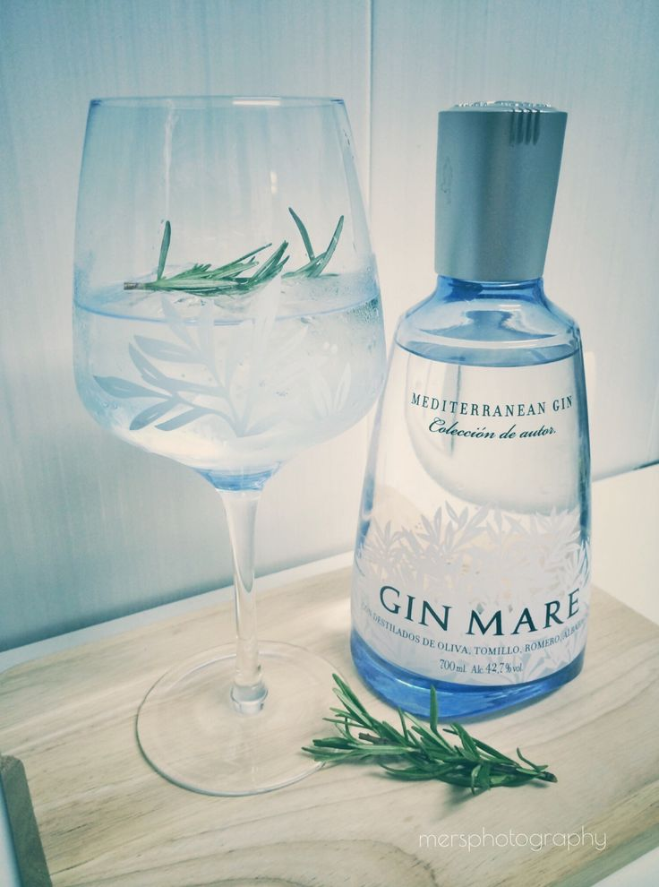 Gin Tonic Time! Gin Mare - The Essence Of The Mediterranean