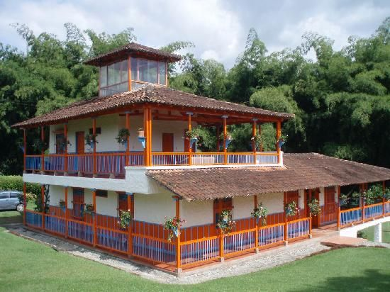 El Guadual Finca in Armenia, Colombia. Not necessarily this finca, but Armenia. #SomosTurismo