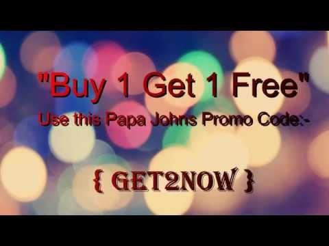 40 Off Papa Johns Regular Menu Pizza+Papa Johns Promo Code 2017