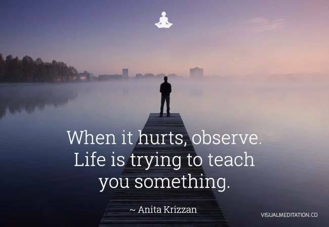 Life is always trying to teach you through every experience. @visualmeditatio   visualmeditation.co