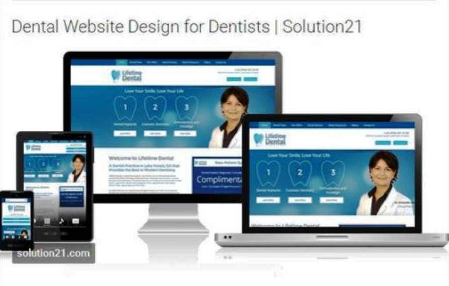 http://www.solution21.com/dental/web-design/ | Dental Website Design - Coming up with a dental website design that stands out can be a challenge for dentists. Solution21, Inc. is one of the few companies that provides dentists with highly customized website designs that not only engage the visitors of the website, but also are mobile-friendly and search-friendly.