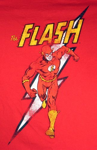 The Flash was my daughter's first crush.  This makes me think of her....and Sheldon Cooper.