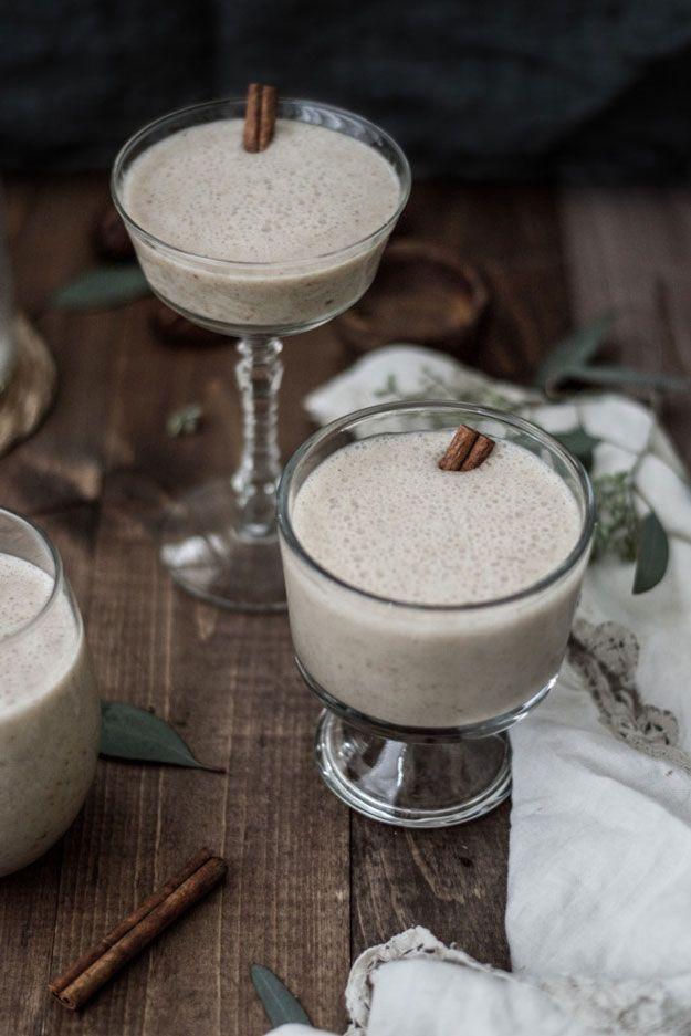 Easy Vegan Chai Nog | Eggnog Recipes For The Holidays