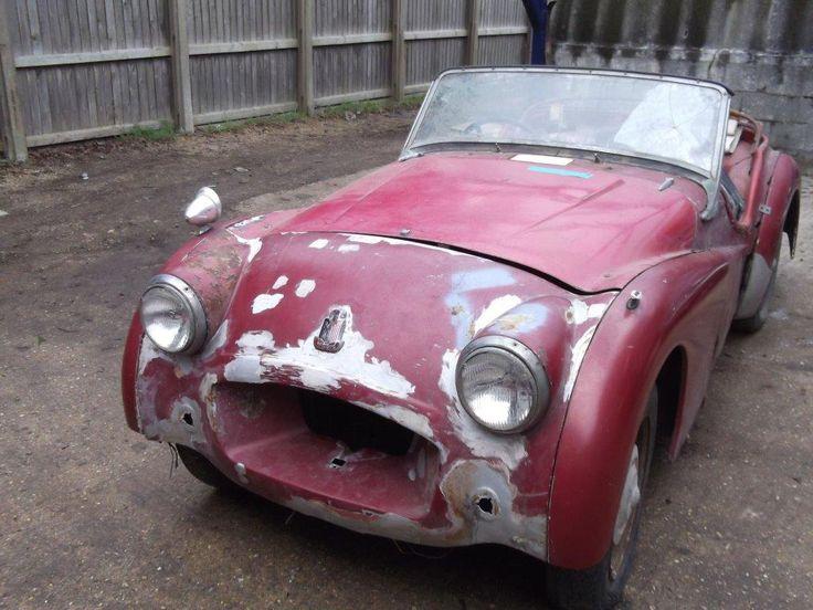 1955 Triumph TR2 Barn Find