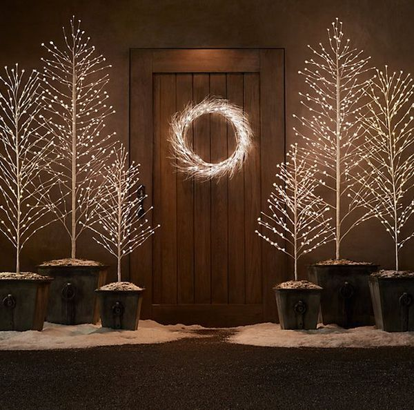 These Light Up Trees Will Add Festive Light to Your Home #christmas trendhunter.com