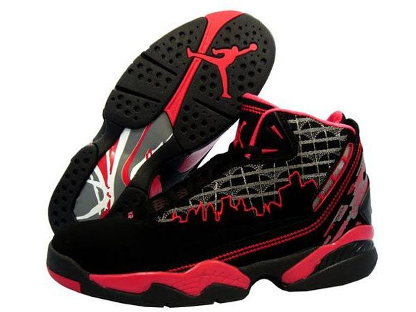 9c495db5246704 Air Jordan Retro 8 Shoes In Black Red