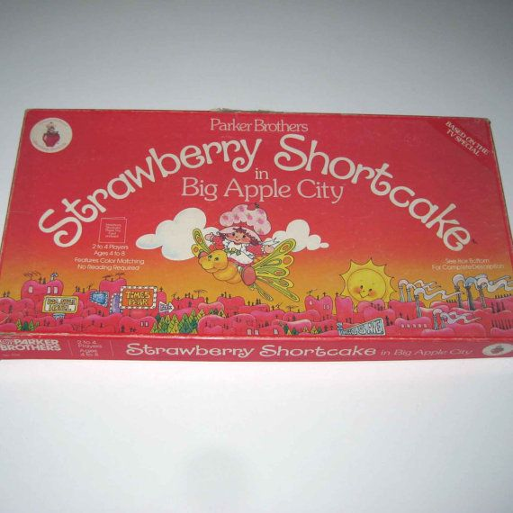 Vintage 1980s Strawberry Shortcake in Big by grandmothersattic, $14.95