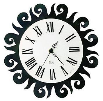 Sun Shaped Wall Clock