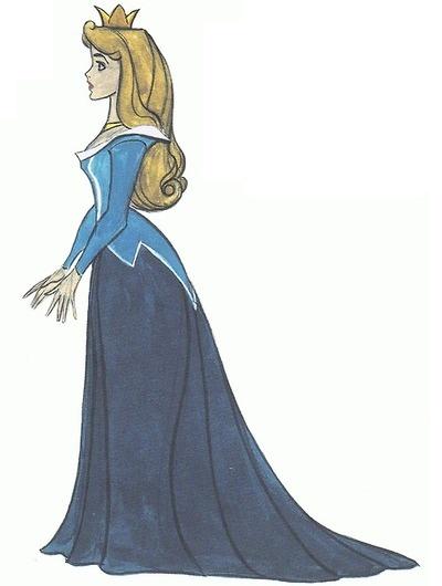 sleeping beauty by marc davis...plus she's in the blue dress.