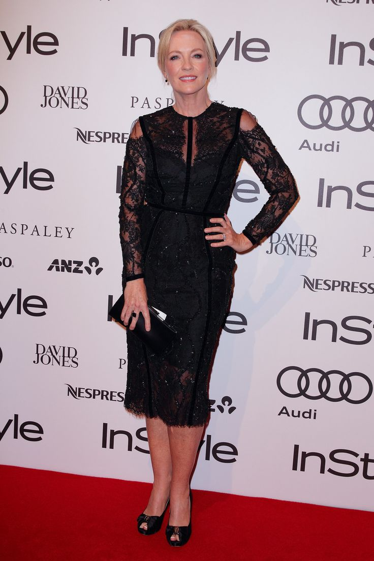Rebecca Gibney at the 2014 InStyle and Audi Women of Style Awards.
