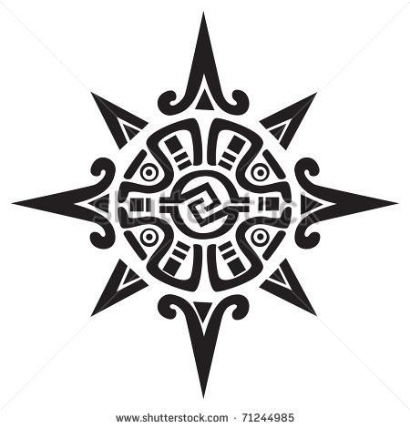 stock-vector-mayan-or-incan-symbol-of-a-sun-or-star-isolated-on-white-great-for-tattoo-or-artwork-71244985