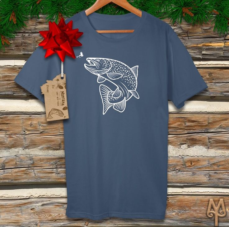 Montana and Fly Fishing themed t-shirts by Montana Treasures make great stocking stuffers. Shop now!