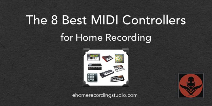 A guide to the best MIDI controllers including the Novations Launchpad, Launchkey, Akai Professional MPD18, MPK Mini, and M-Audio Axiom AIR.