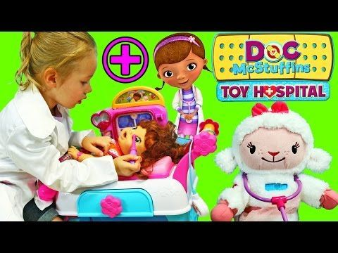 Doc McStuffins Hospital Care Cart - http://www.bestofchristmastoys.com/doc-mcstuffins-hospital-care-cart/