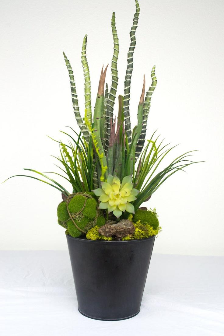 18 best Faux Succulents images on Pinterest   Succulents garden ...