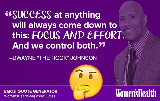Here's Your Inspirational Quote from Dwayne Johnson  http://www.womenshealthmag.com/life/dwayne-johnson-quote