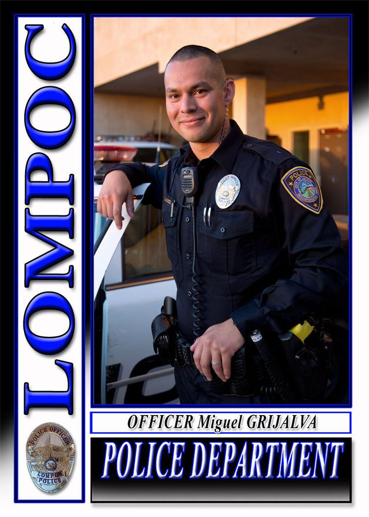 Private Officer Breaking News: Lompoc California Police officer death apparent suicide The Santa Barbara County Sheriff's Office is investigating the apparent suicide of a Lompoc Police Department officer that occurred early Tuesday morning. City officials announced the death of three-year Lompoc Police Department veteran Miguel Grijalva on Tuesday afternoon.