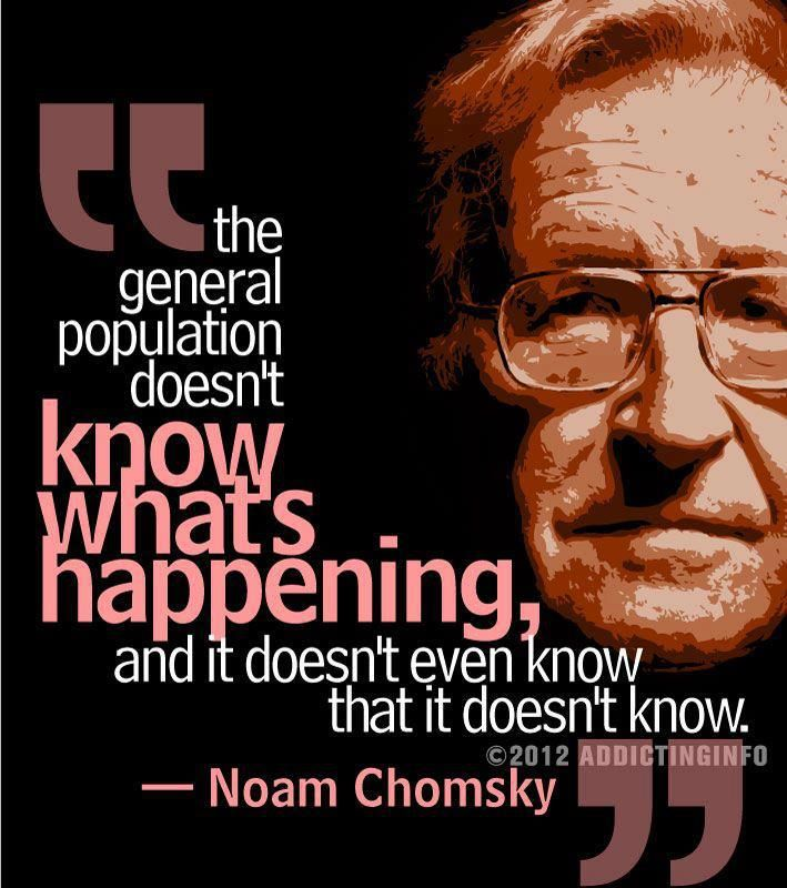 Noam Chomsky Quotes 33 Best Noam Chomsky Images On Pinterest  Noam Chomsky Politics .
