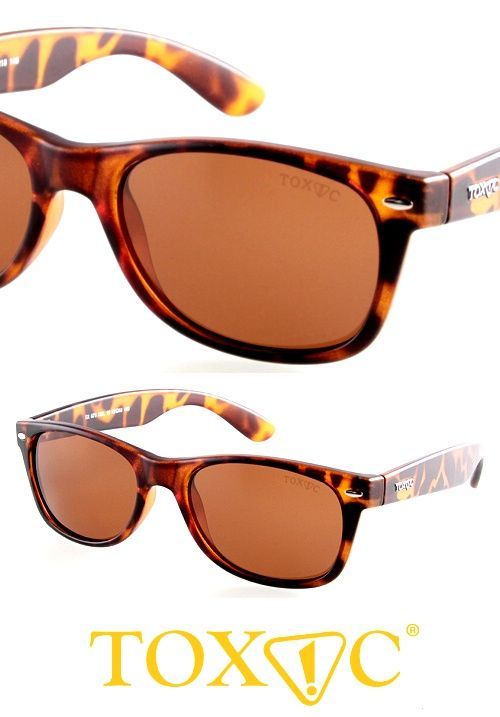 Brown polarized lenses, wayfarer sunglasses. Now at great prices, and many different styles on StayAmazing.com