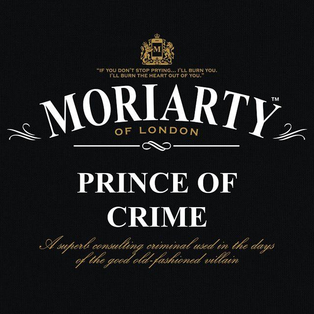 """Prince of Crime"" - Black tee/tea"