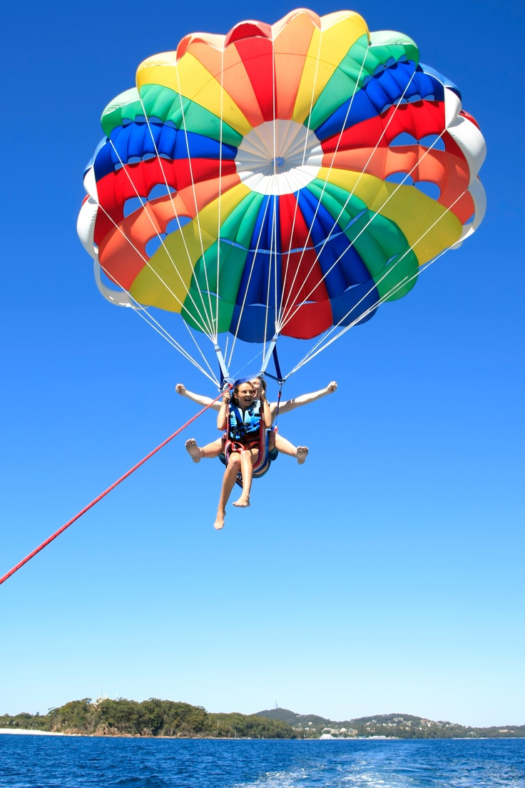 the Price of One With Port Stephens Parasailing