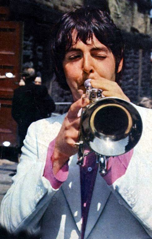 Yep, Paul started out as a brass man.