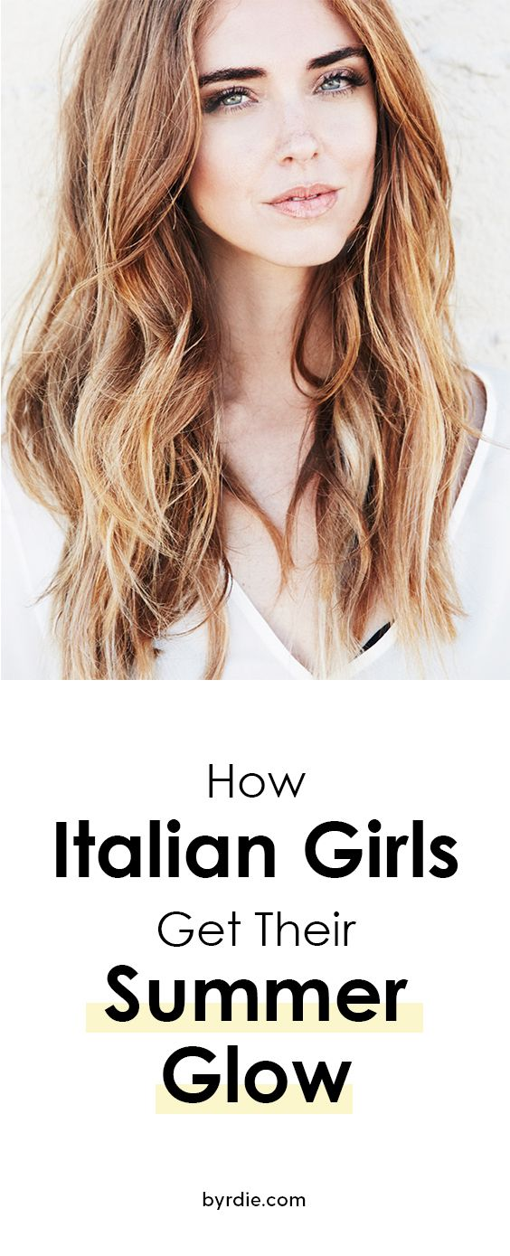 Italian women agree: This is the secret to bronzy summer skin