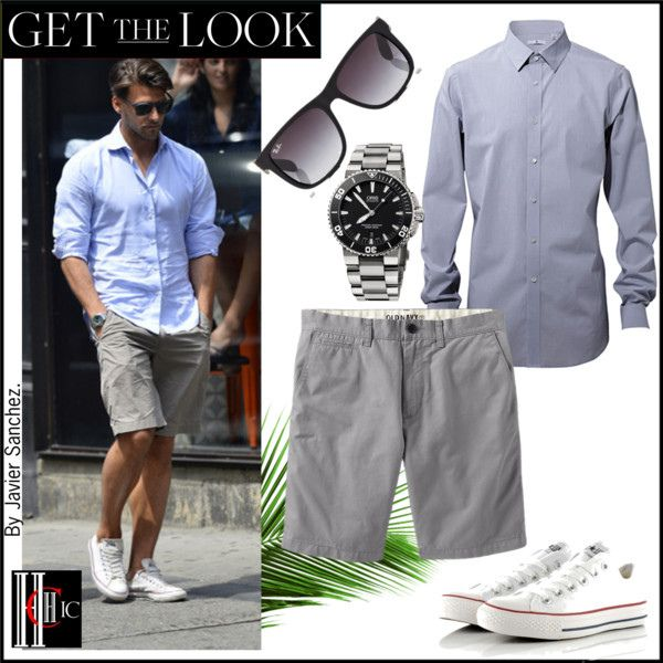 Get the look   Johannes Huebl easy chic.