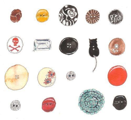 tinder buttons