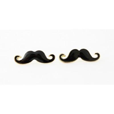 Boucle d'oreille en forme de #Moustache $4.5 #earring #beautiful #fun #fashion