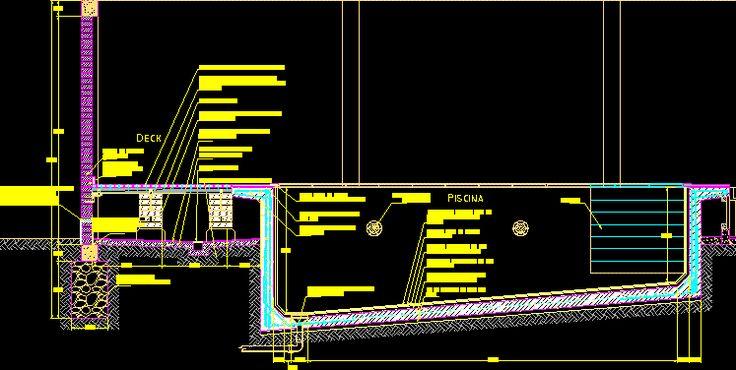 Detalle constructivo de piscina de hormigon armado for Detalles constructivos de piscinas
