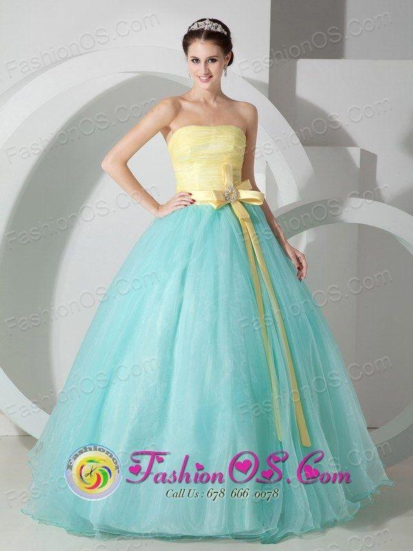 yellow dress quinceanera la