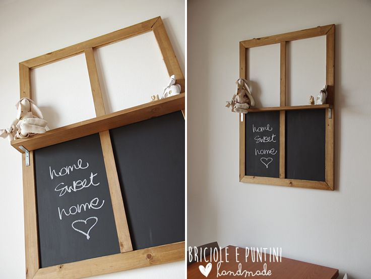 #dremel4home #finestra #lavagna @bricioleepuntini #chalkboard #windows #idea #dremel