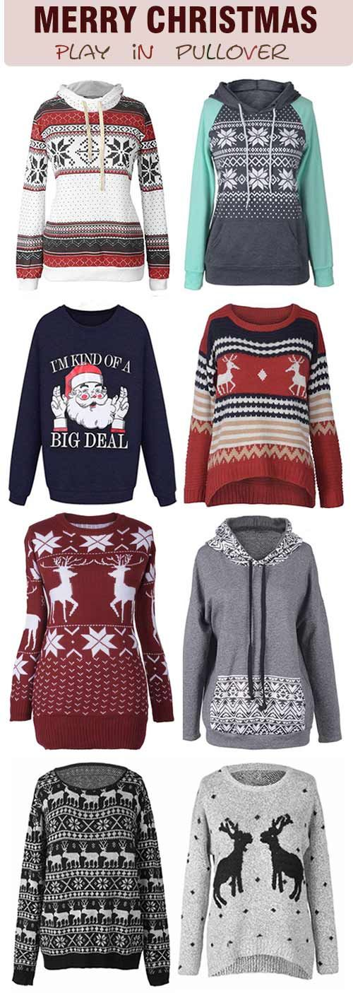 Start from &18.99~ Free Shipping & Easy Returns! Fresh to new-in Christmas sweater& sweatshirt to complete a chic & stylish outfit. They are perfection for fall wardrobe.Check out all the sophisticated styles at Cupshe.com !
