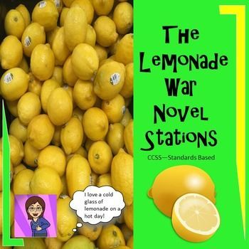 Wake your class up with this engaging and entertaining formative assessment. Students collaborate as they rotate through several novel based activities with simply a rotate from the teacher every 9-10 minutes.You get 8 literacy stations based on The Lemonade War.