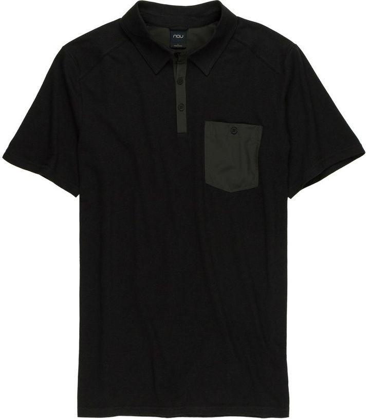 NAU Wander Polo Shirt - Short-Sleeve