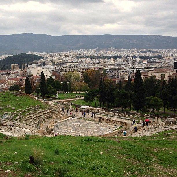 Θέατρο Διονύσου Ελευθερέως (Theatre of Dionysus Eleuthereus) στην πόλη Αθήνα, Αττική