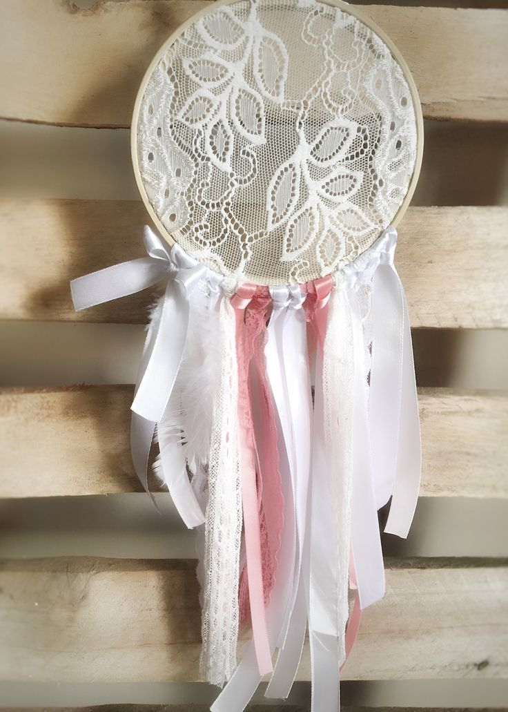 Whimsical Dreamcatcher Nursery Mobile.