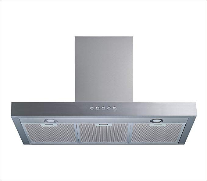 Winflo 30 Wall Mount Stainless Steel Convertible Range Hood With 450 Cfm Air Flow Aluminium Mesh Filters And Led Lights Review Led Lights Range Hood Lights