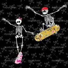 Skater couple
