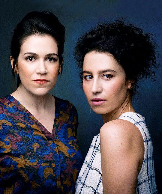 ariannenymeria:  Abbi Jacobson and Ilana Glazer photographed by Luke Fontana