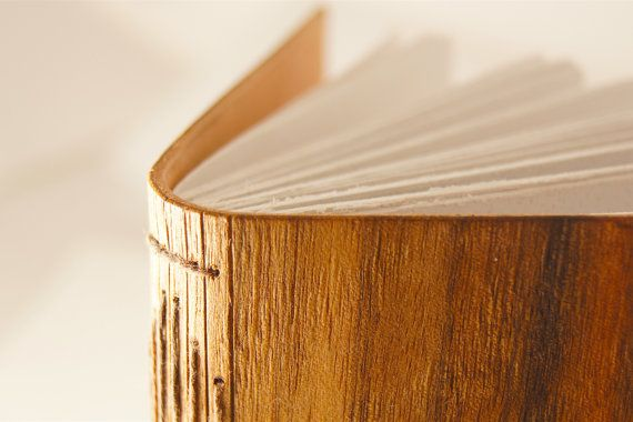 QLD Walnut & Leather Journal - Wood Journal - Sustainable Journal - Leather Sketchbook - Wood and Leather Book - Handcrafted in Byron bay