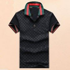 2017 New Fine Design Mens fashion print Polo Shirts Cotton Short Sleeve Shirts