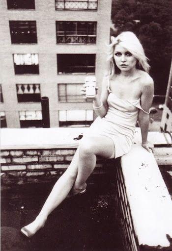 Debbie Harry, late 1970s.